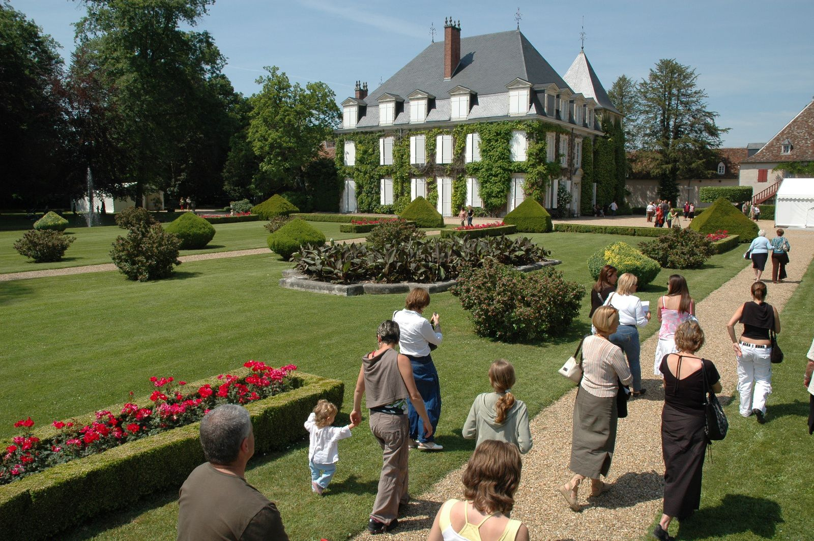Le château de Laàs et ses jardins