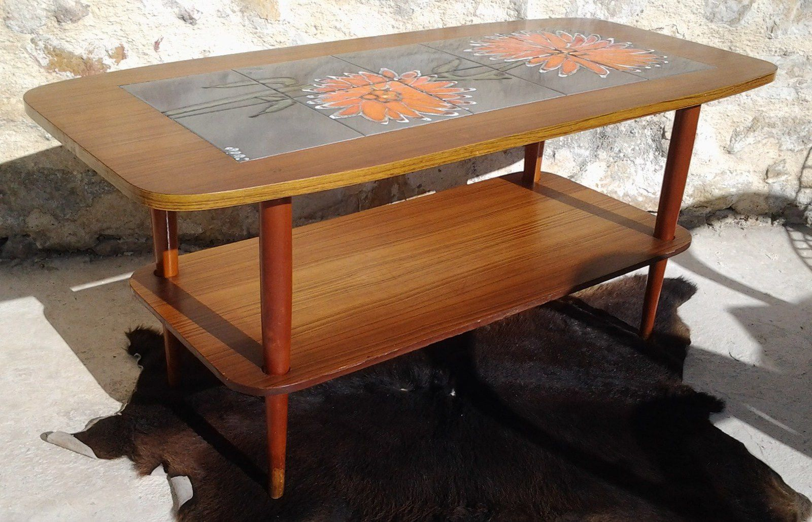 table basse scandinave vintage ann es 60 vente de mobilier vintage design scandinave ann es 50. Black Bedroom Furniture Sets. Home Design Ideas