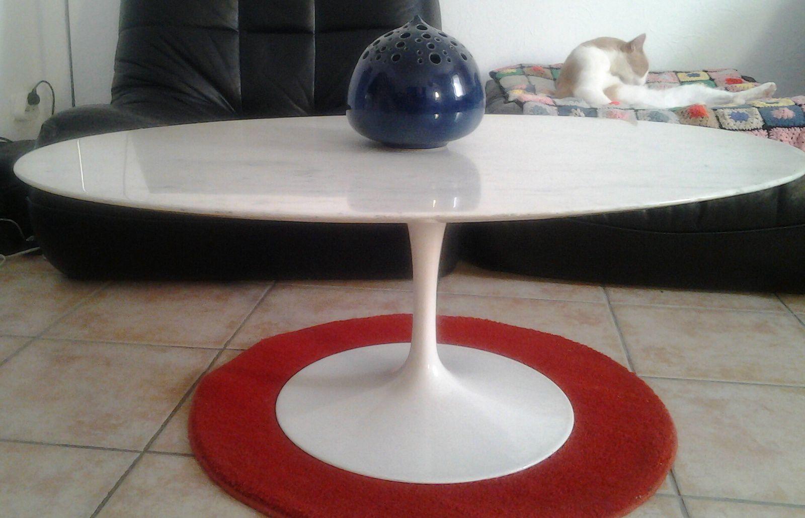 Table Basse Eero Saarinen Knoll 1957 Vente De Mobilier Vintage Design Scandinave Ann Es 50 60 70