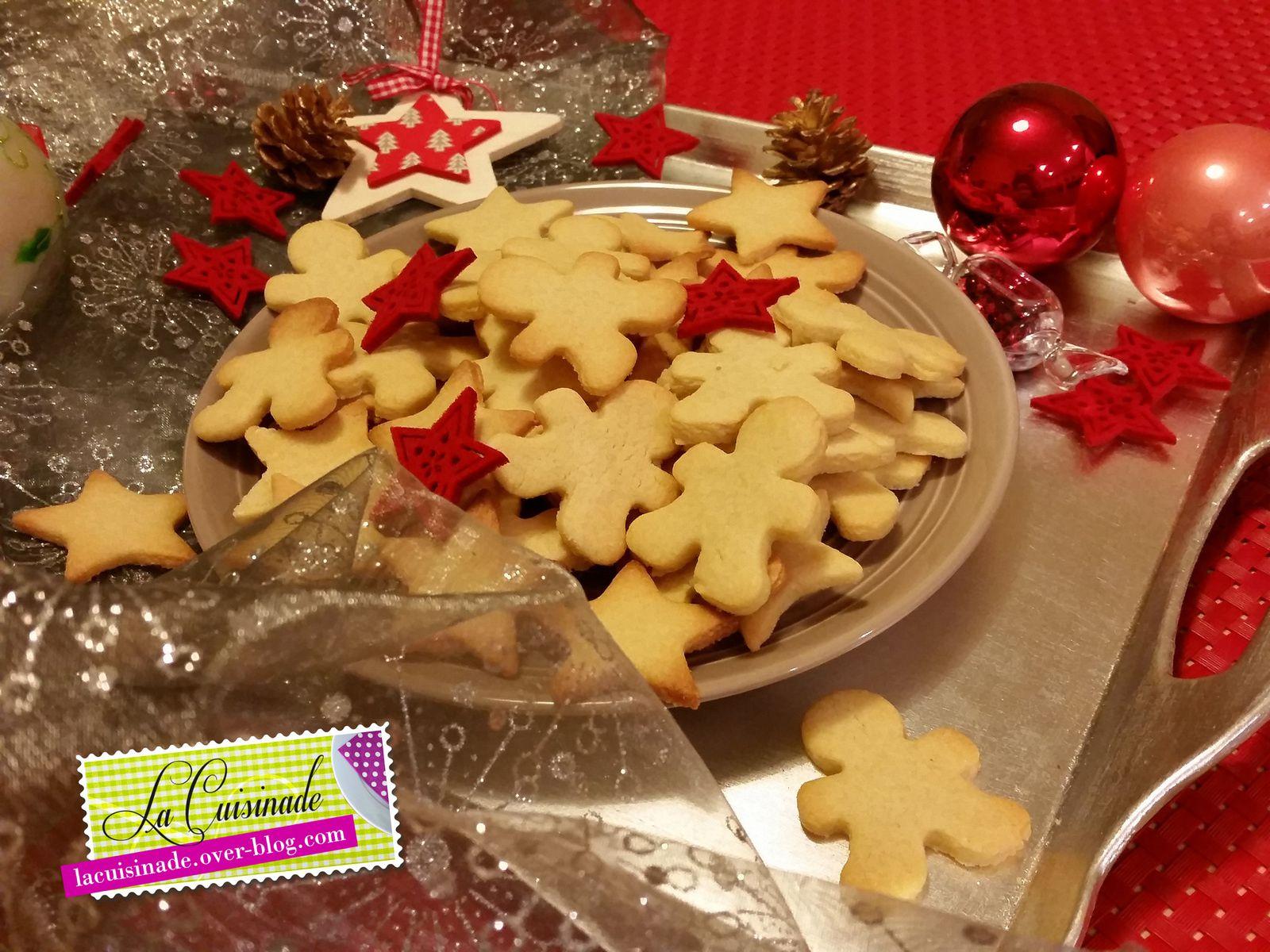 Sablés de Noël à la Vanille
