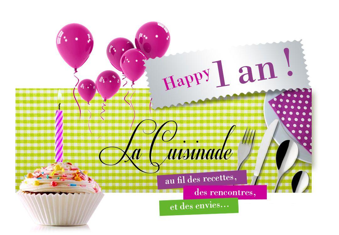 Happy Birthday La Cuisinade !