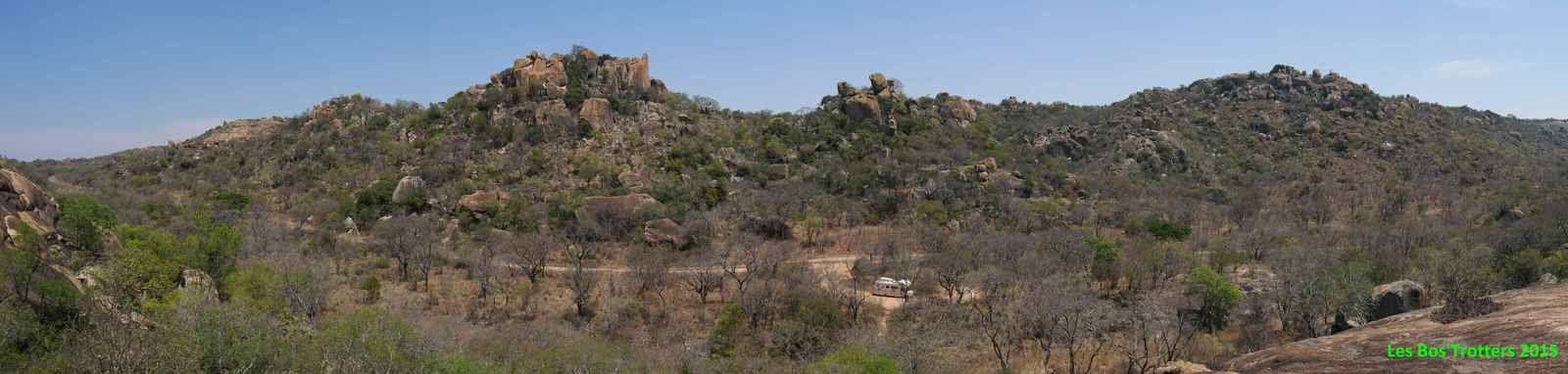 Paysage du parc Matopo