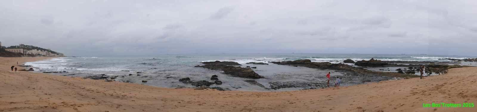 Afrique du Sud - 4 - L'Océan Indien, ça remue trop!