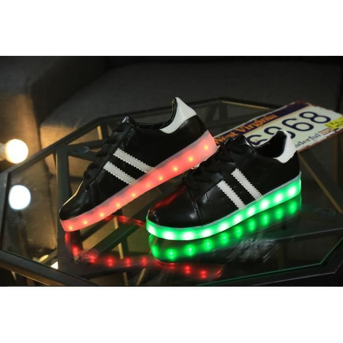 Les chaussures led