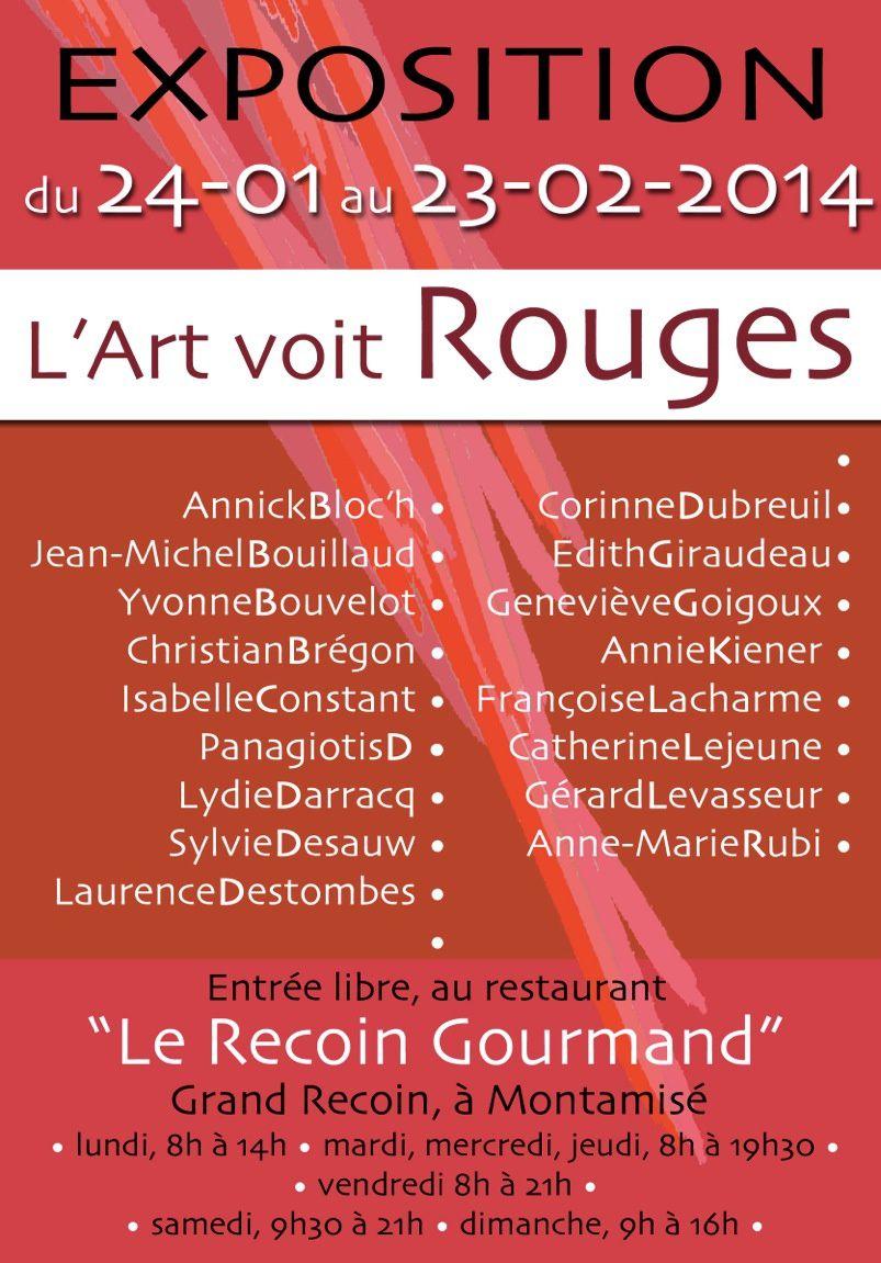 Presse : &quot&#x3B;L'Art voit Rouges&quot&#x3B;