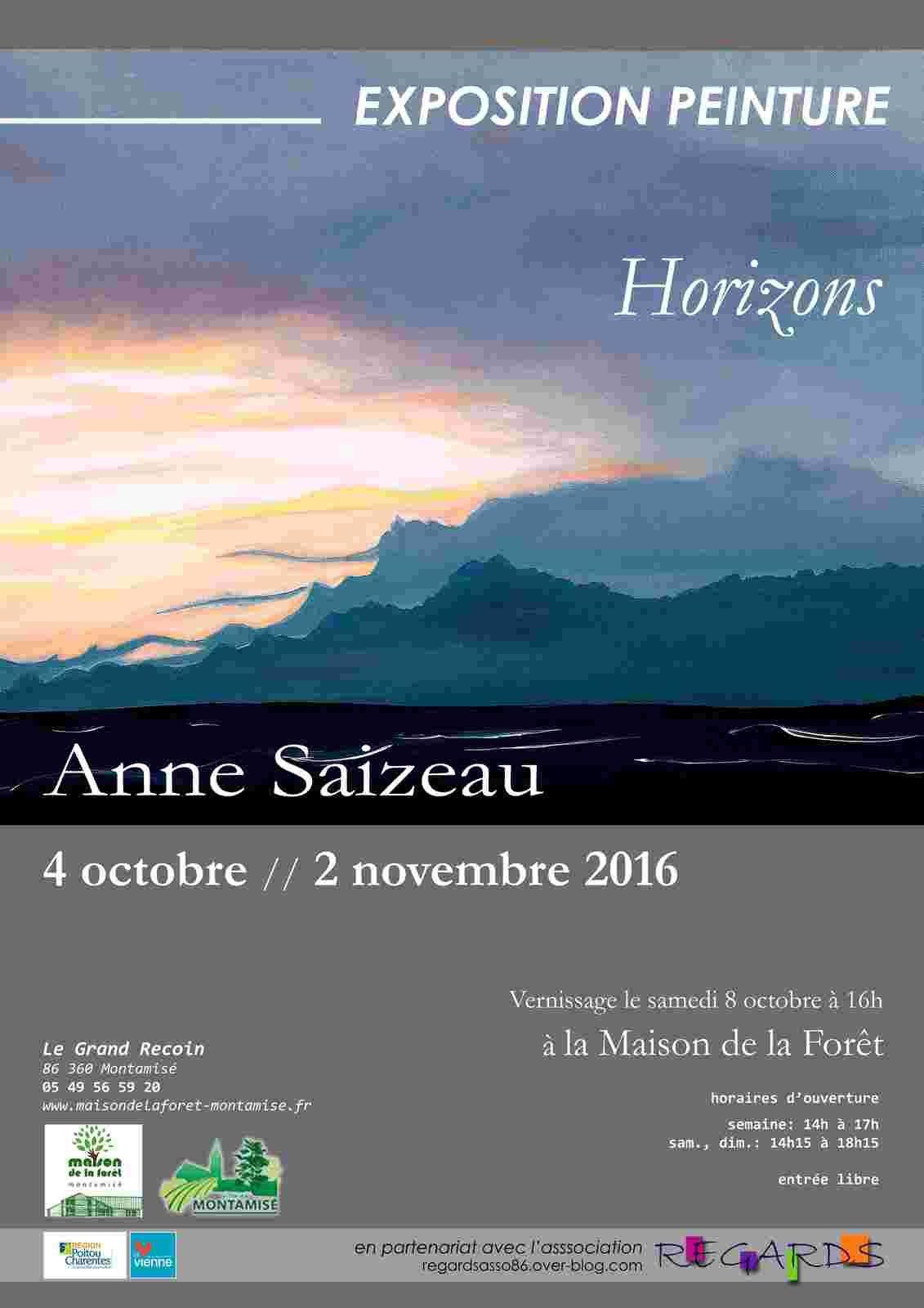 Exposition en octobre à la Maison de la Forêt de Montamisé