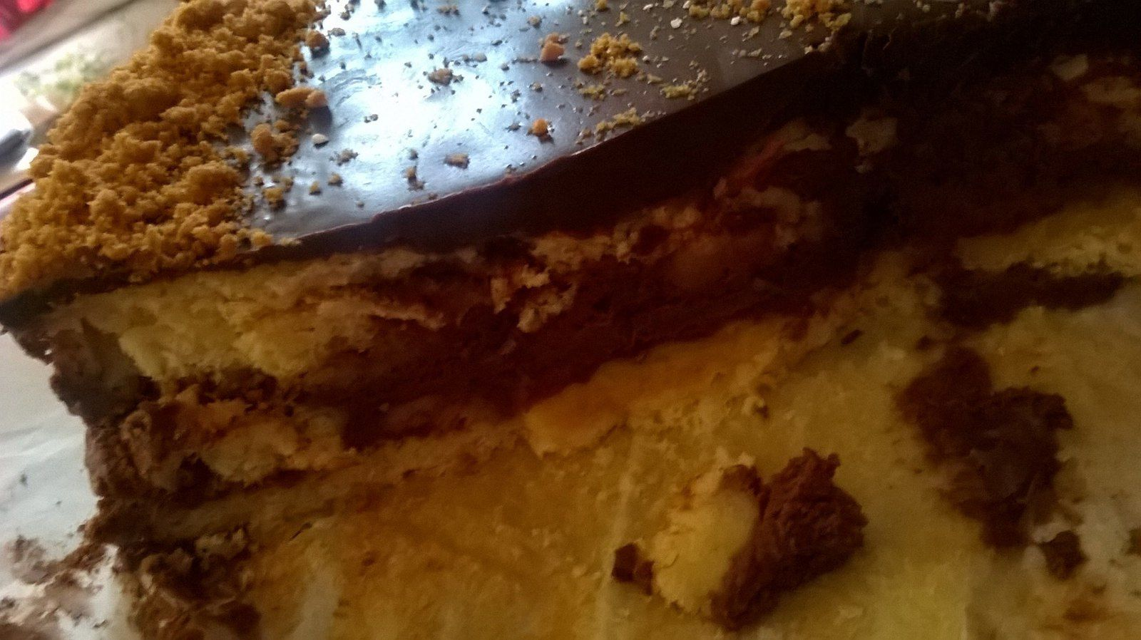 Gâteau Gourmand Chocolat spéculoos