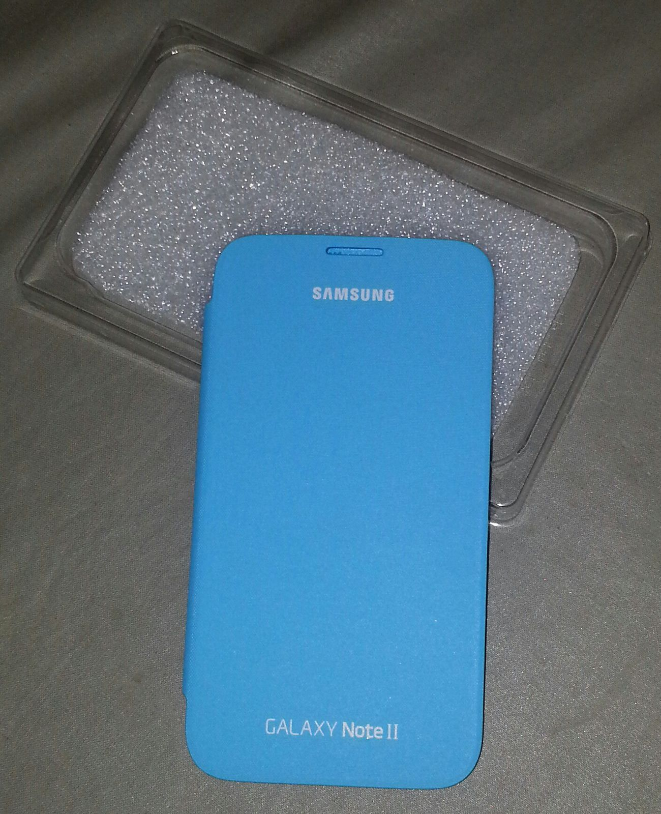 J'ai testé la Flip Cover Bleue officielle pour Galaxy Note 2 [Mobile Fun]