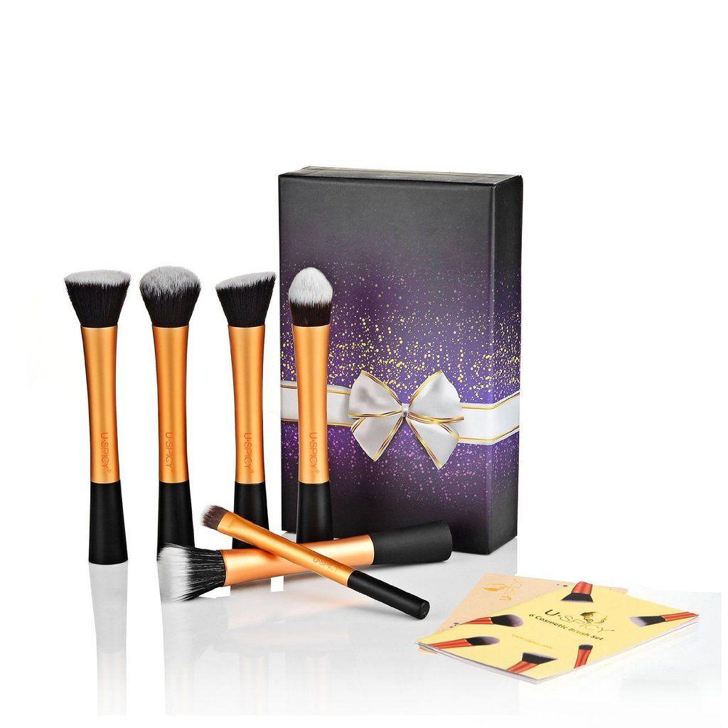 Un lot de 6 pinceaux de maquillage USpicy à gagner [Concours] [Edit du 20/04/15]
