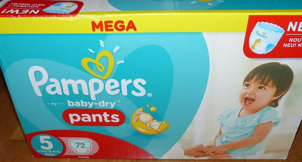 Les Couches Baby Dry Panty De Pampers Les Avis De Testing Girl