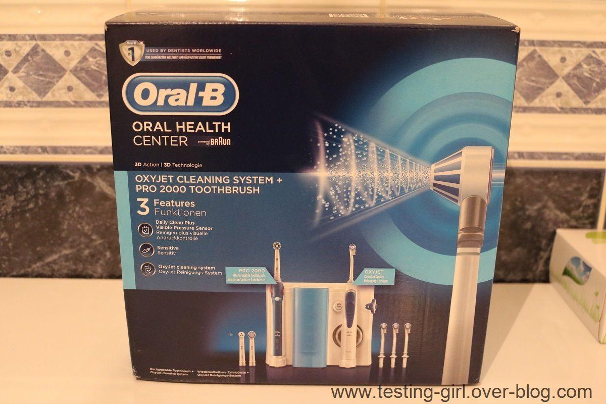 Le combiné dentaire Oxyjet Oral B Pro 2000