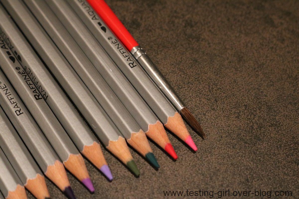 les crayons de couleurs ohuhu les avis de testing girl. Black Bedroom Furniture Sets. Home Design Ideas
