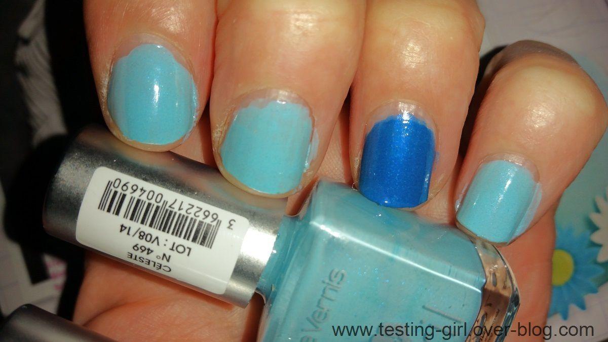 Céleste et Bleu Azur