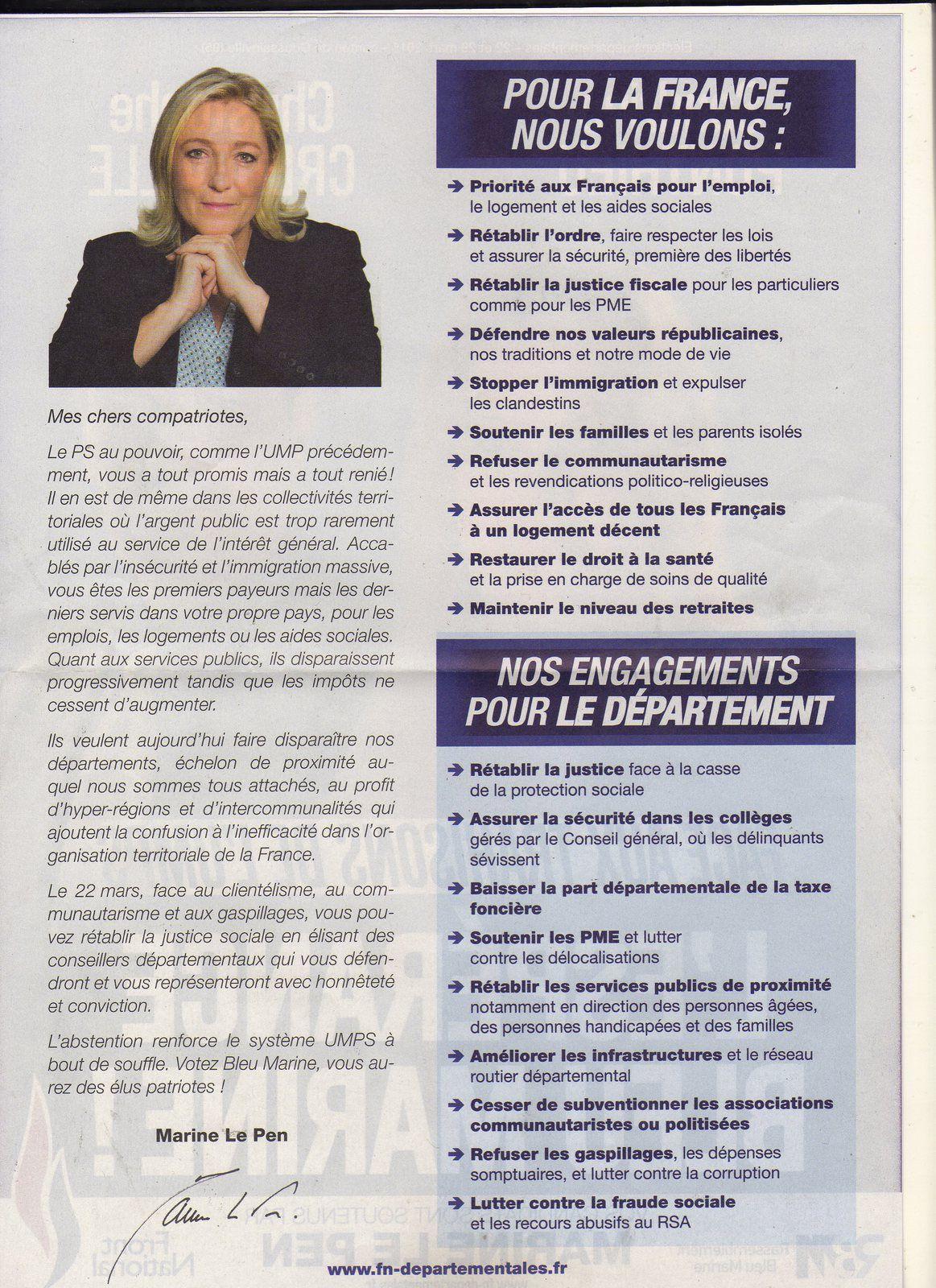 elections departementales