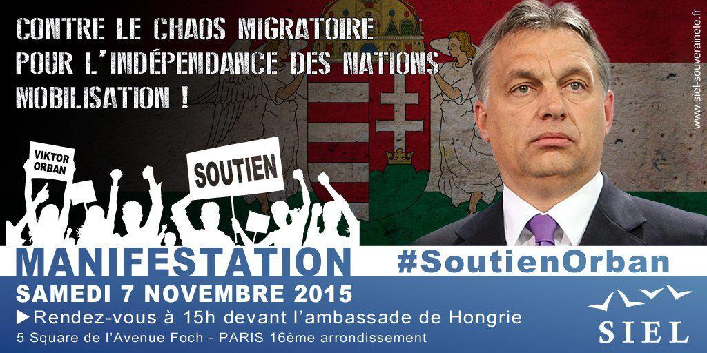 Appel aux patriotes à manifester Samedi 7 novembre à 15h à Paris. Par Gérard Brazon