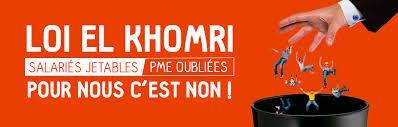 Loi El Khomri communautarisme exacerbé,  salariés jetables et fragilisés, TPE-PME oubliées. Pour nous c'est non!