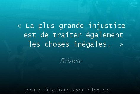 La Plus Grande Injustice Poemes Et Citations