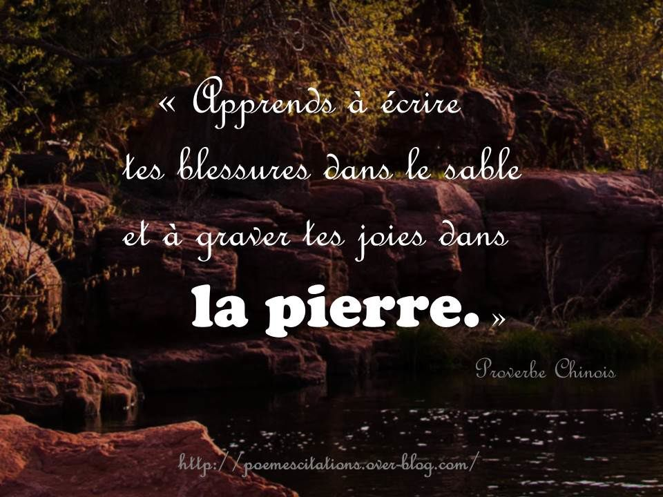 Proverbe Chinois
