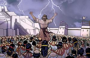 Jonas à Ninive : encore 40 jours et Ninive sera détruite !