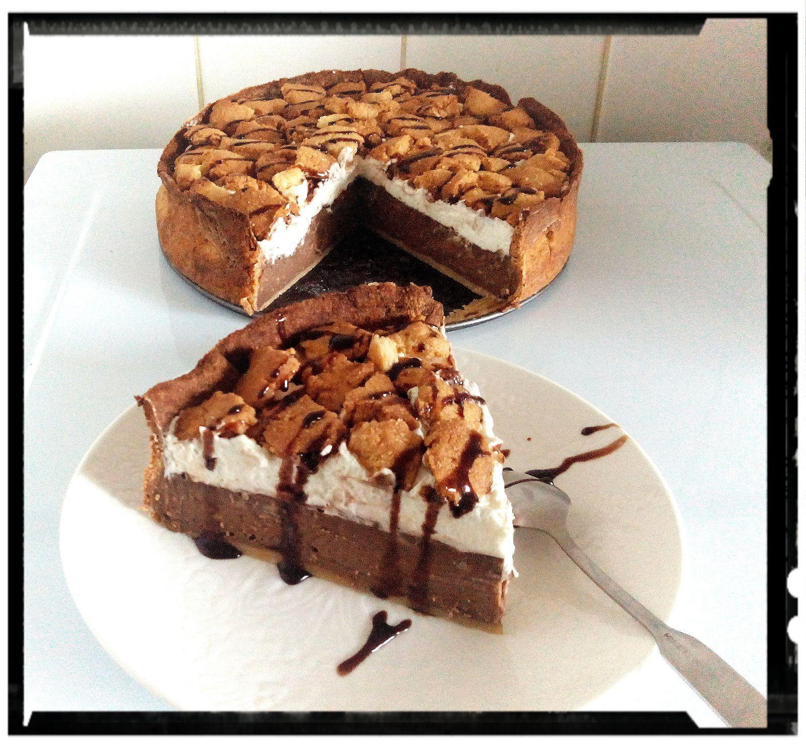 Flan parisien chocolat-coco revisité