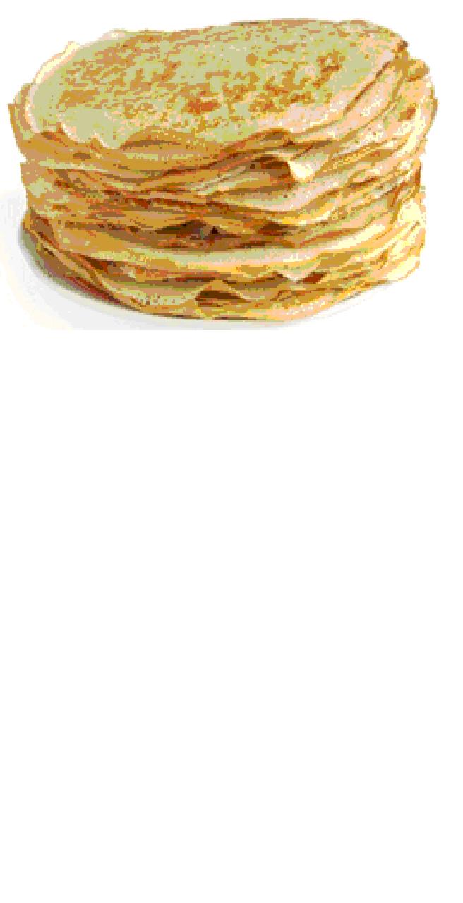 Chandeleur: vente de crêpes sur le marché de Riec le 1er février