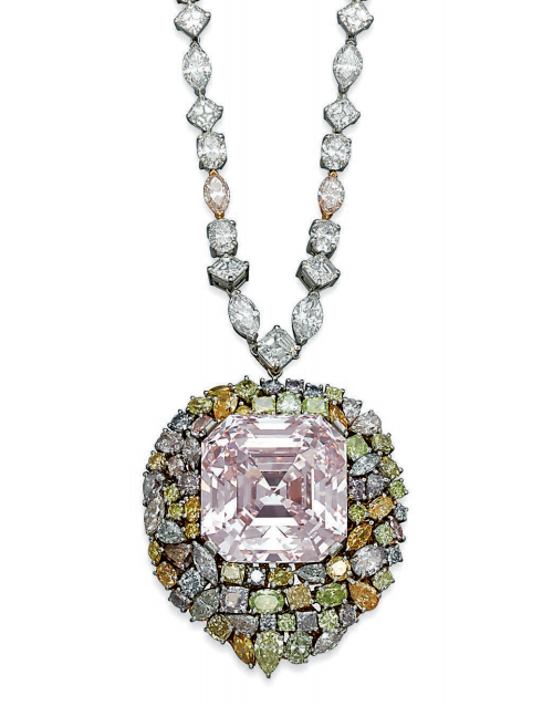 Collier de diamants de coleur, LEVIEV
