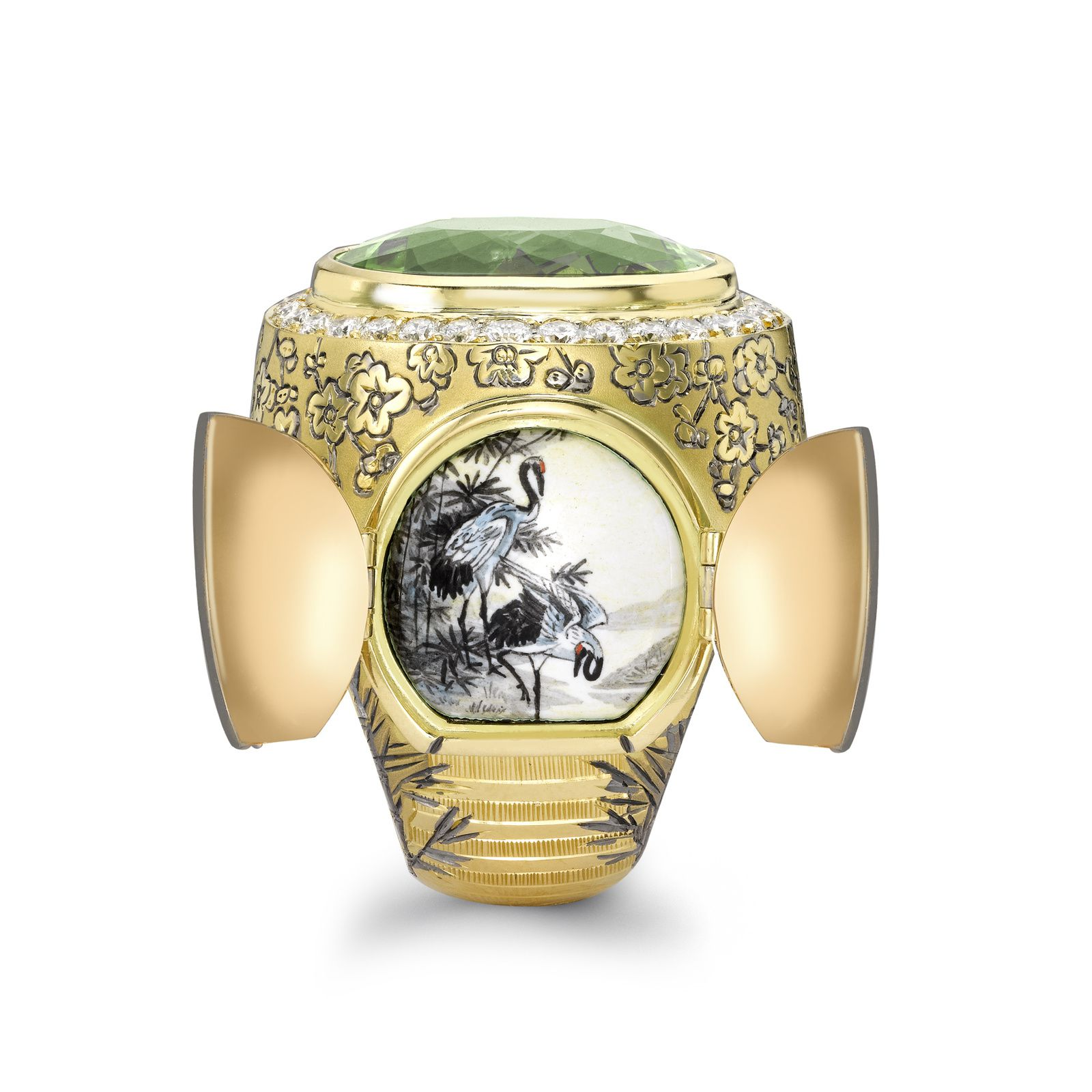 The Chinese Secret Garden Ring © Theo Fennell