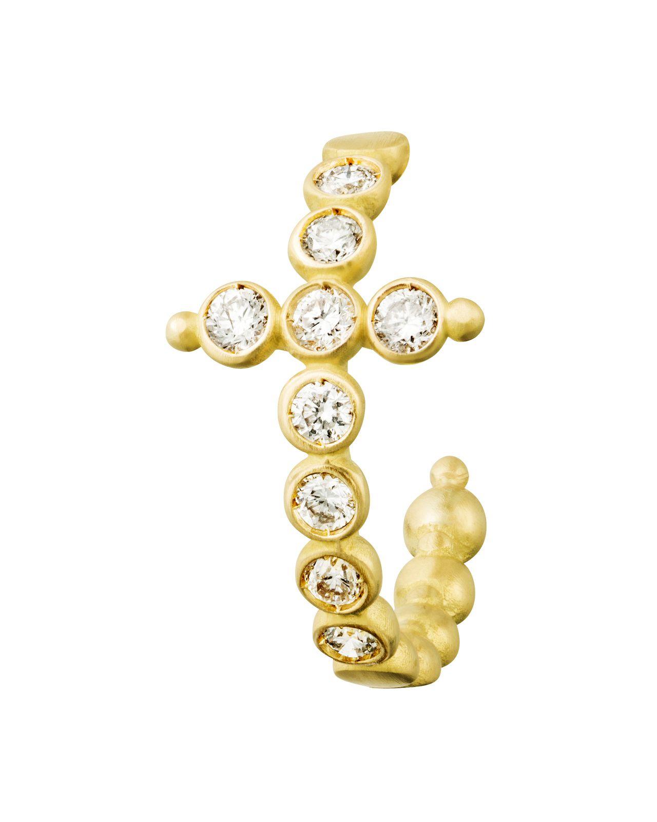 Boucles d'oreilles FOLLES IGUAZU,or,diamants © AIMEE.AIMER