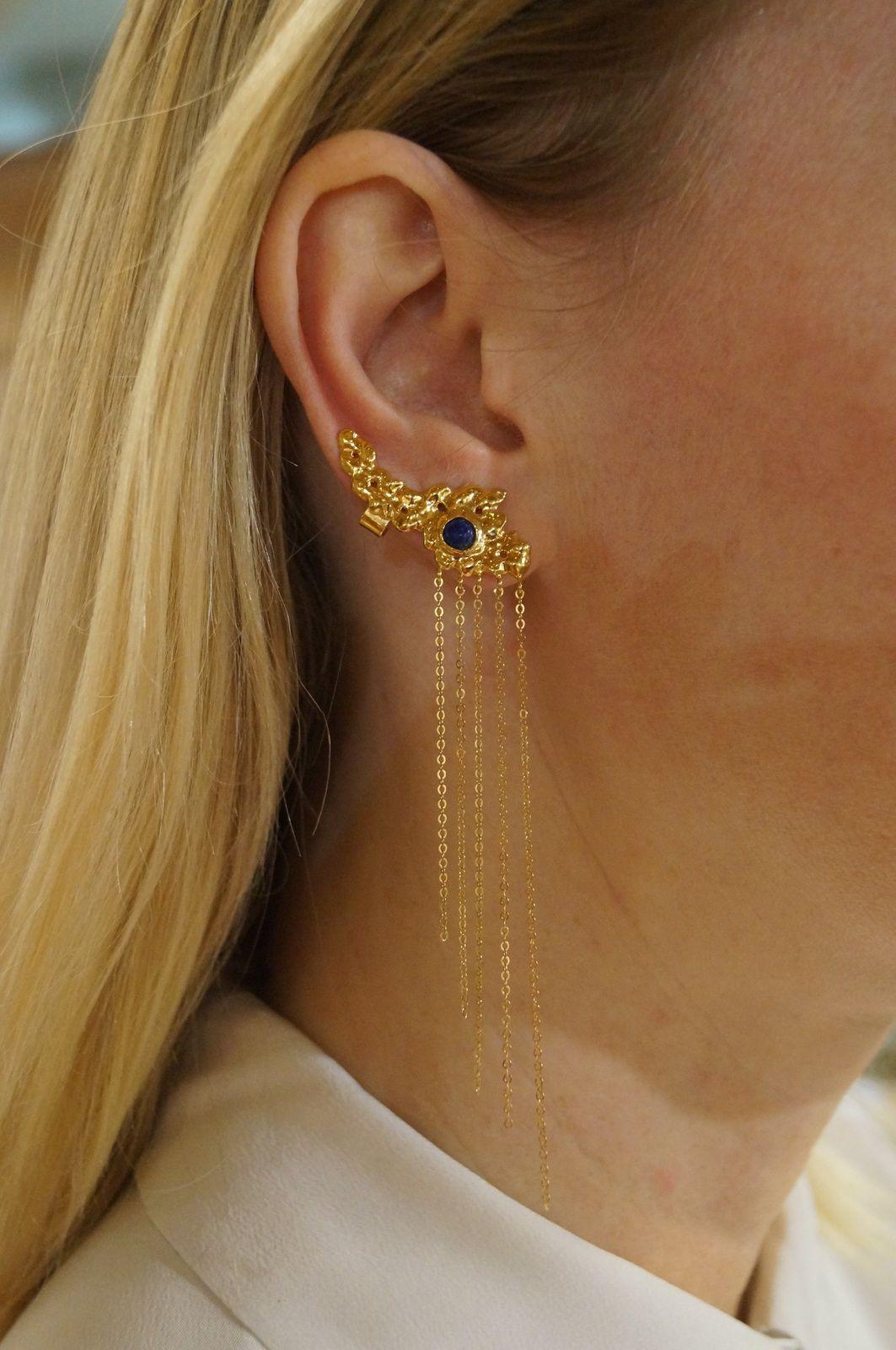 Boucle d'oreilles, collection ANCIENT   © BLISS FROM PARIS