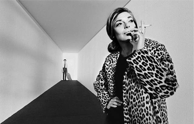 Anne Bancroft and Dustin Hoffman on The Graduate © Bob Willoughby