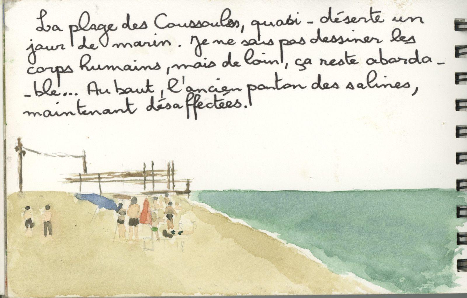 De l'Eure-et-Loire au Cabardès à travers Montpellier et la Lozère pour finir dans les Corbières. Deuxième carnet.