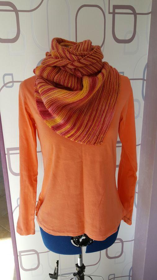 Arlequin shawl