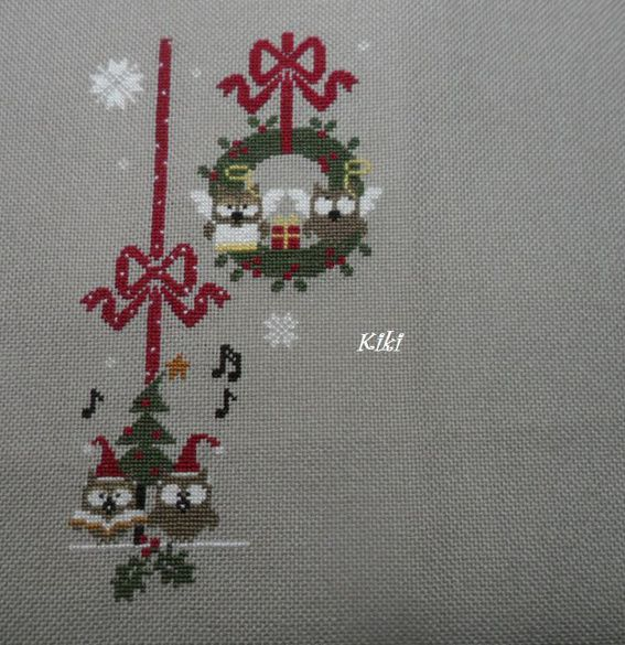 Sal &quot&#x3B;Christmas Owls&quot&#x3B; 6