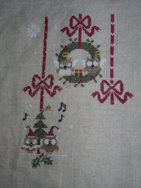 Sal &quot&#x3B;Christmas owls&quot&#x3B; 7