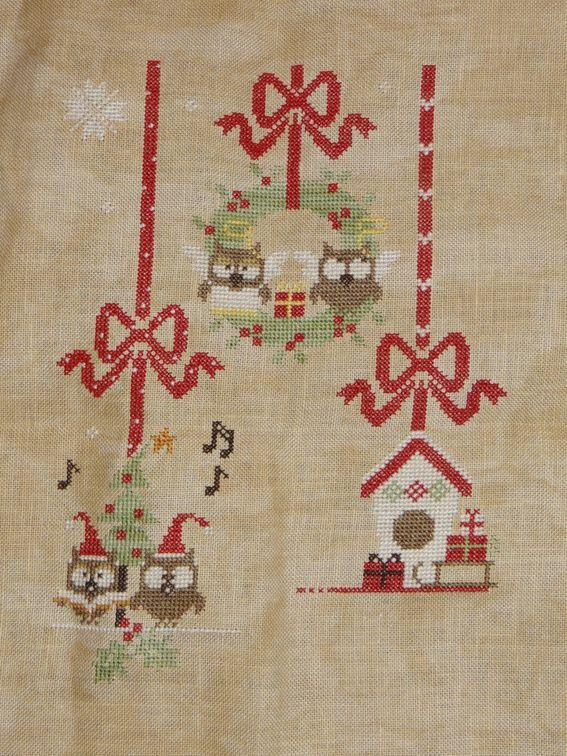 Sal &quot&#x3B;Christmas owls&quot&#x3B; 8