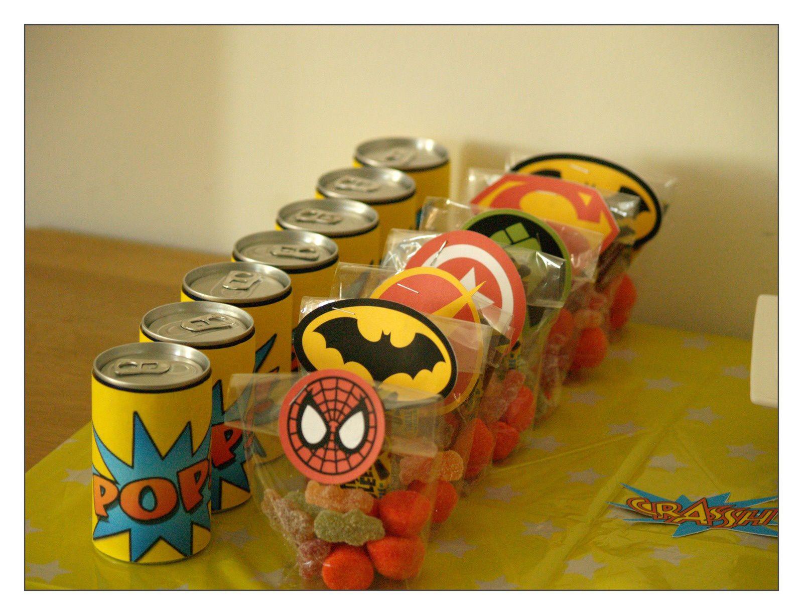 Un anniversaire de super héros