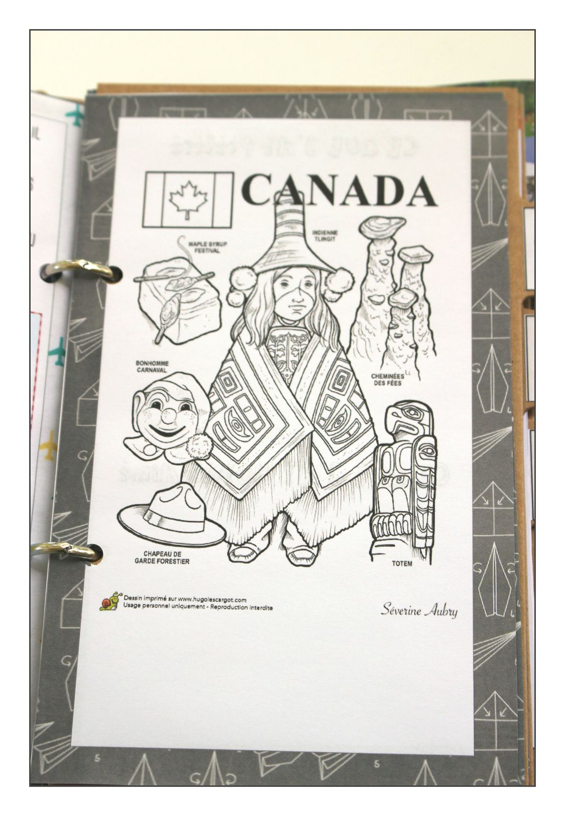 Carnets de voyage version road trip canadien