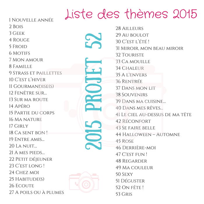 # Projet 52 - 2015 - Semaine 17 - Girly