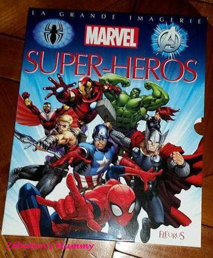 La Grande Imagerie des Super-Héros avec les Éditions Fleurus