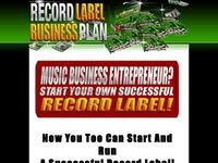 Entertainment company business plan