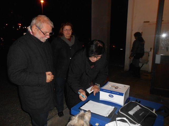 Tour H de la Cassine / Une expression de démocratie directe