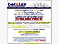 The Betalay Horse Racing System  - Horse Racing Games Betting