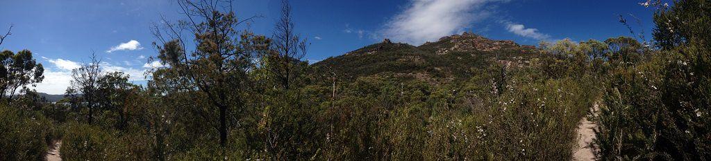Le mont Mayson et le souffleur