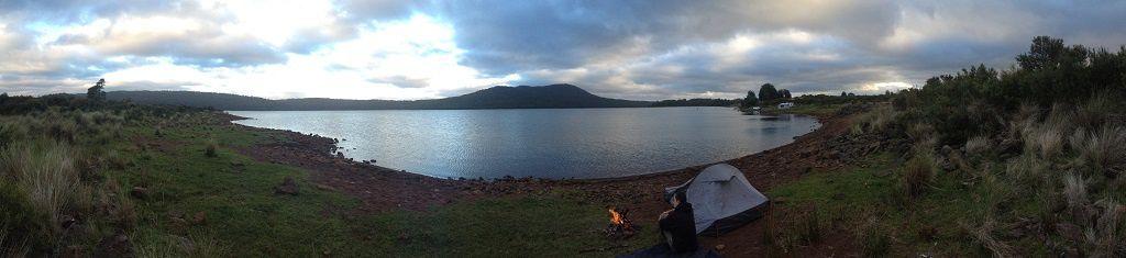 Le Brady's Lake et le centre de la Tasmanie