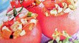 Tomates farcies au thon à la provençale