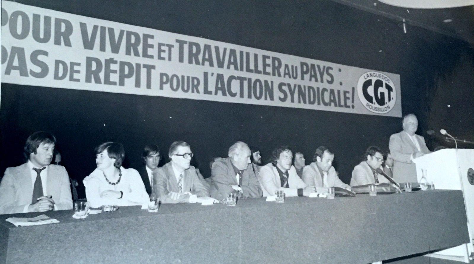 1977 : Georges Séguy secrétaire de la CGT à Montpellier