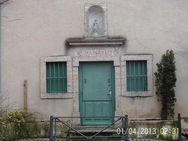 La chapelle Sainte-Marquerite, qui sert de salle d'exposition