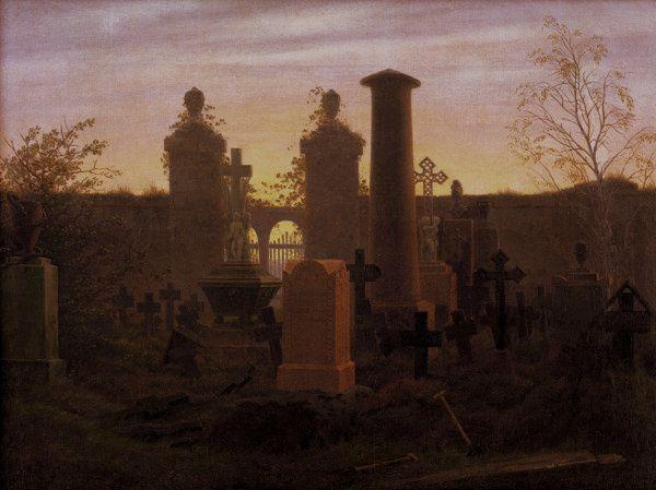 Le cimetière de Kuegelgen, Friedrich