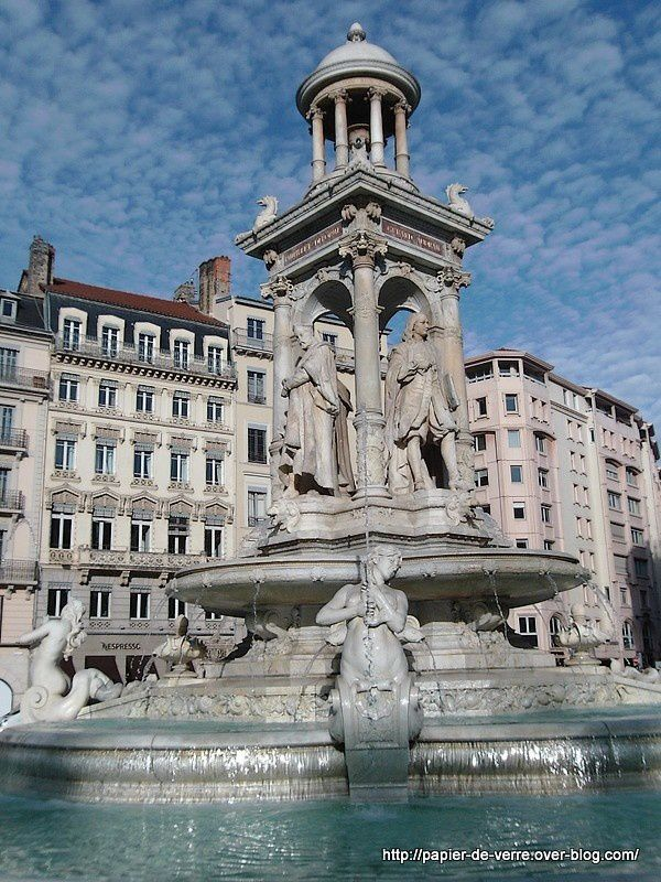 Fontaine des Jacobins, Lyon