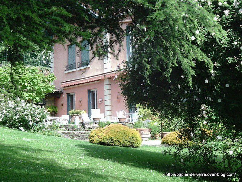 La demeure d'Odile Masquelier, propriétaire et créatrice du Jardin de La Bonne Maison